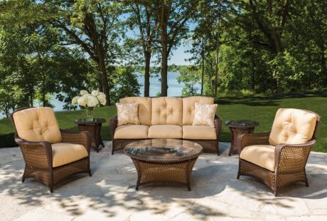 Wicker Deep Seating Sets