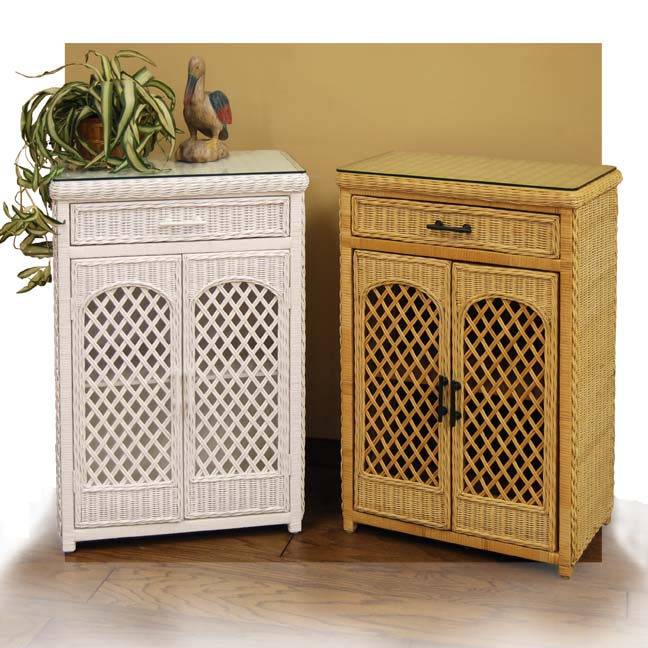 Open Lattice Cabinet The Wickery