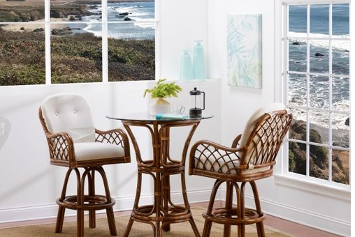 Pleasing Grand Isle Swivel Dining By Classic Rattan The Wickery Theyellowbook Wood Chair Design Ideas Theyellowbookinfo