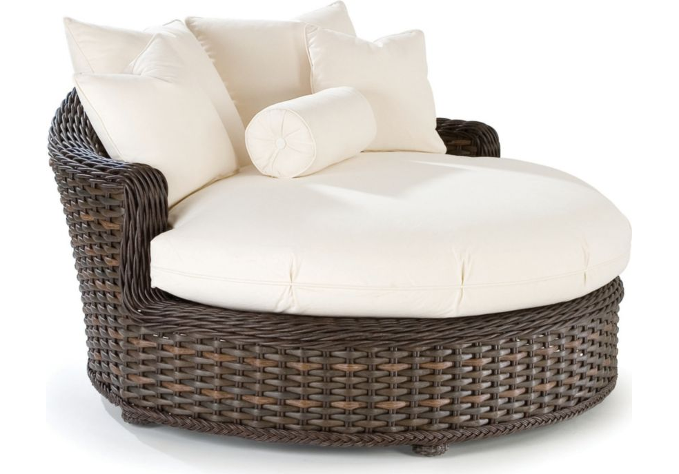 South Hampton Round Chaise By Lane Venture The Wickery