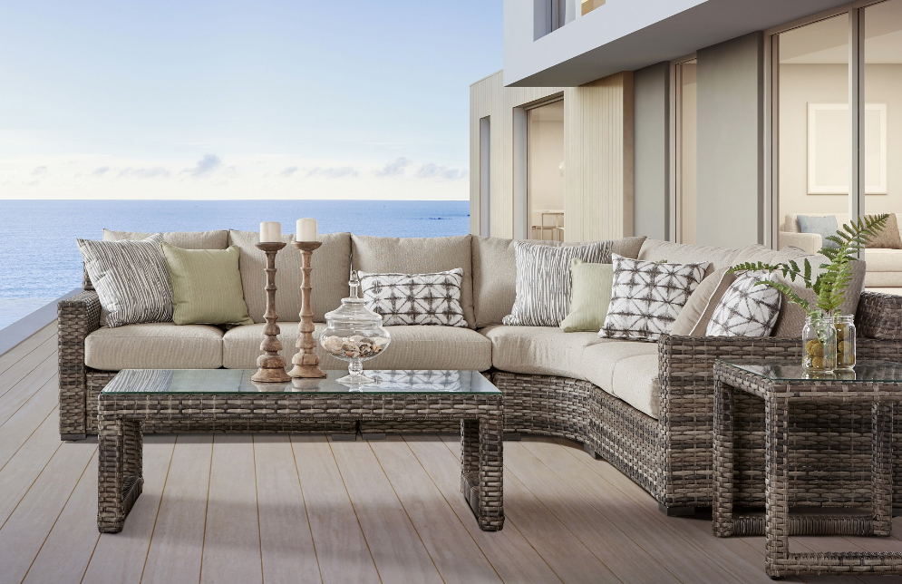New Java Sectional By South Sea Rattan The Wickery