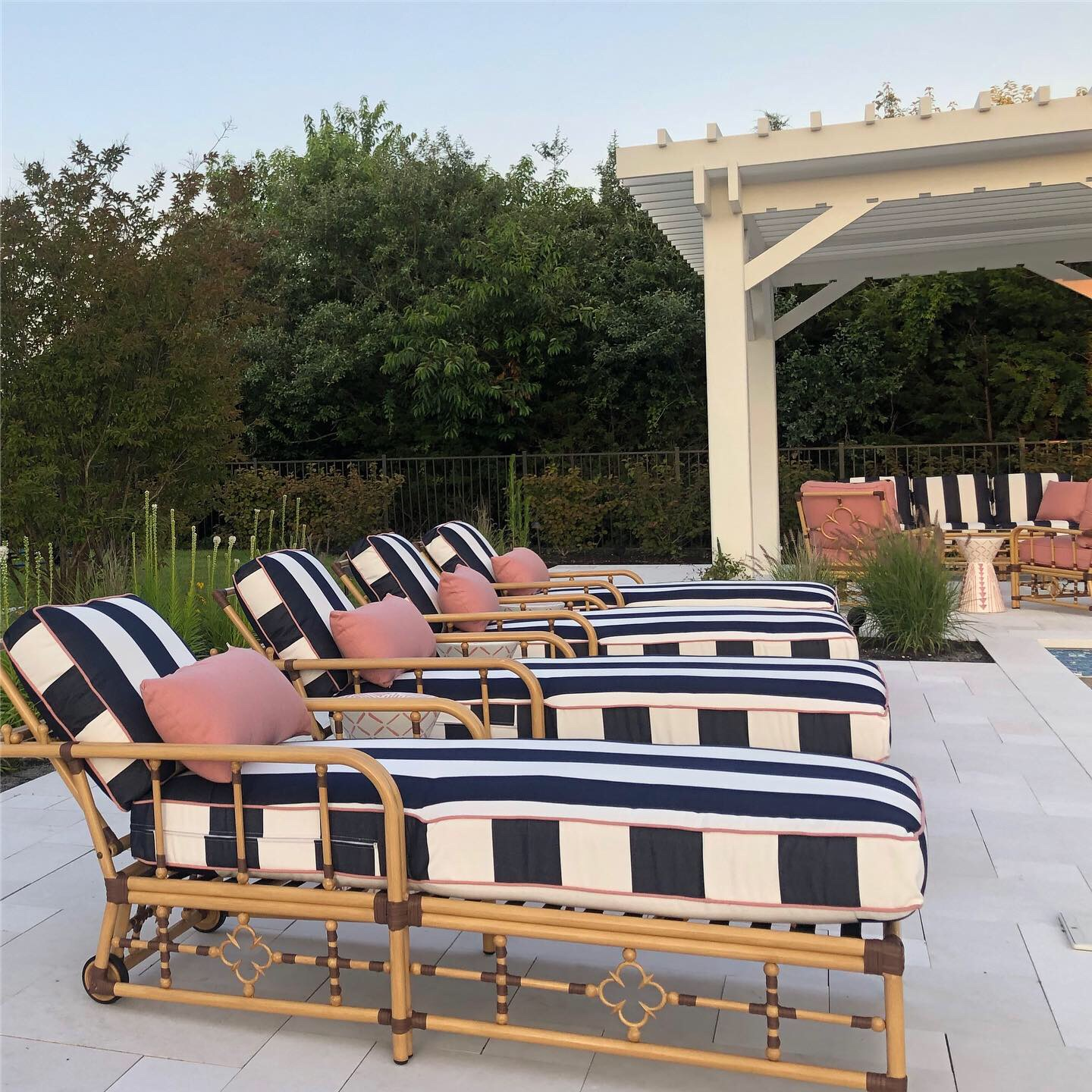 Mimi By Celerie Kemble Chaise Lounge The Wickery Outdoor