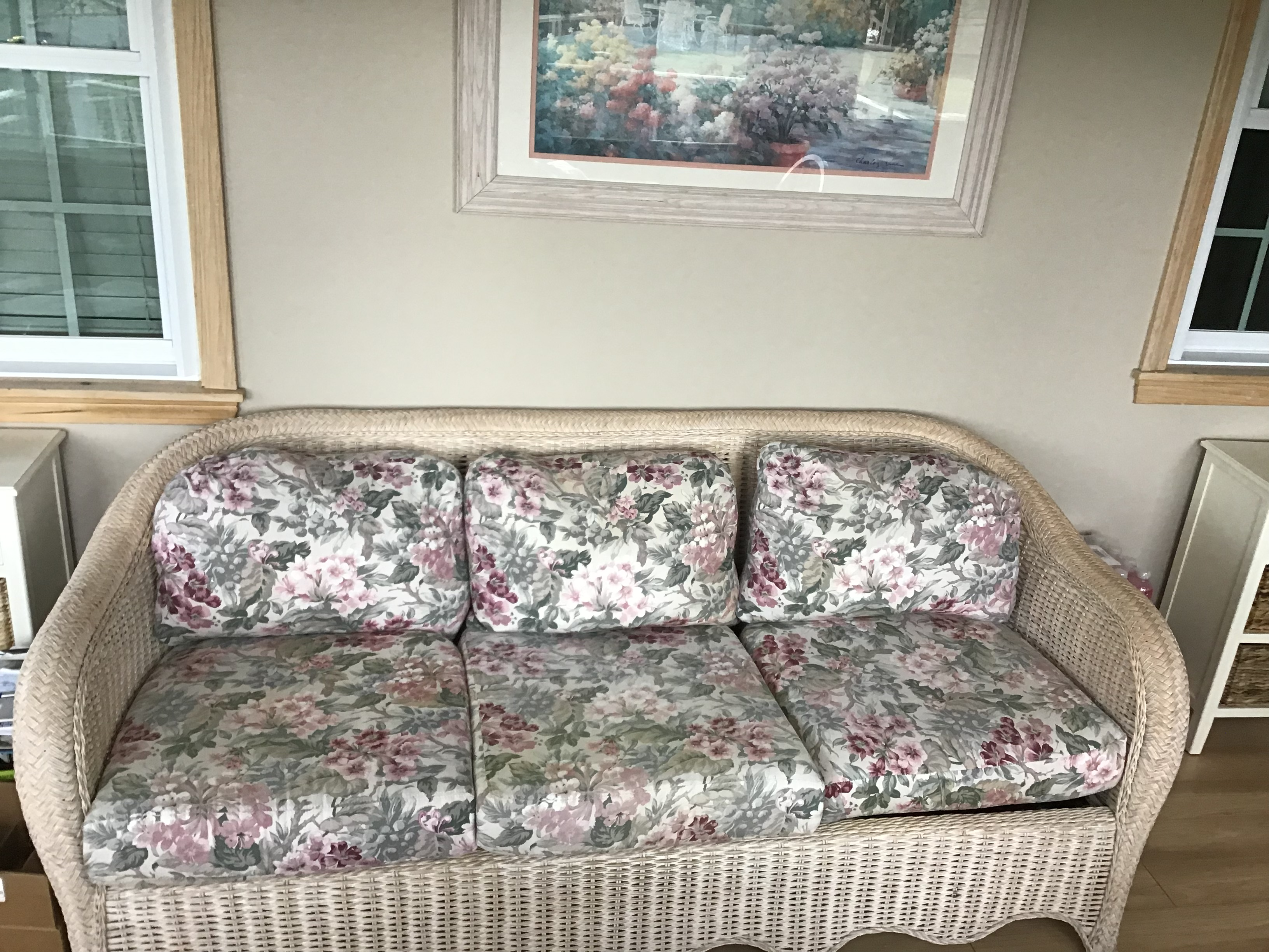 Picture of: Henry Link Cushions Style B The Wickery Wicker Replacement Cushions Henry Link